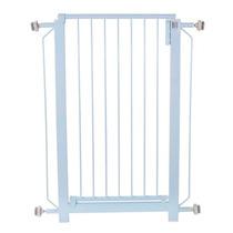 Portão Pet Branco 82x70cm Com Prolongador De 10cm Epoxi