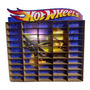 Estante Porta Hotwheels Para 50 Carrinhos Mdf Adesivado Original