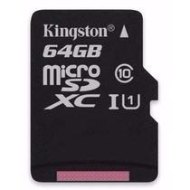 Cartao Memoria Kingston Micro Sdxc 64gb Sd + Adaptador Usb