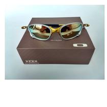 Oculos Oakley Double Xx 24k Dourada + Saquinho+caixa Oakley à venda ... 84a279c53f