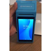 Terminal Pos 3g Android Printermax V2 Impressora Térmica 58m