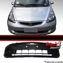 Parachoque Dianteiro Honda Fit 2003 2004 2005 2006 2007