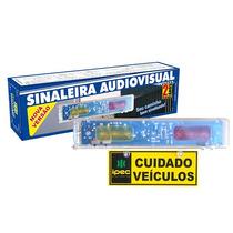 Sinaleira Audio Visual Led - Saída De Garagem Ipec 110/220v