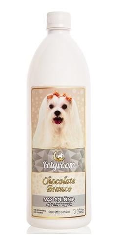 Max Colônia Chocolate Branco 1 Litro - Cães E Gatos Petgroom