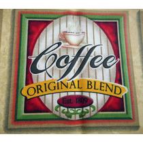Tecido Importado Painel Café - Original Coffee