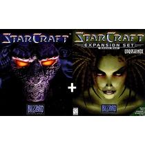 Starcraft + Expansão Jogo Pc Original Lacrado