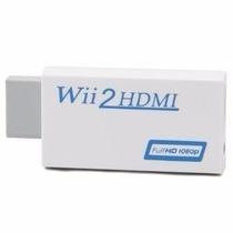 Wii2hdmi Adaptador Wii Full Hd 1080p Pronta Entrega Promoção