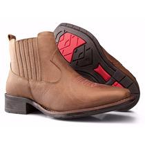 Botina Feminina Country Texana Rodeio Couro Capelli Boots