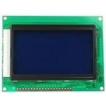 Display Lcd Gráfico 128x64 - Backlight Azul Arduino