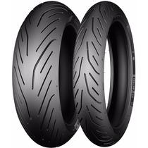 Jogo Pneu Moto 120/70/17+190/50/17 Michelin Pilot Power 3