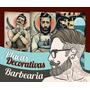 Placas Decorativas Para Barbearia - 40x27 - Promoções