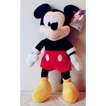 Boneco Pelucia Mickey Mouse Disney 45cm Grande Antialergico