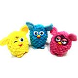Boneco Furby Brinquedo Infantil, Interativo Amarelo, Azul,