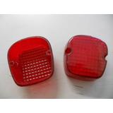 Lente Pisca Cb400/ Cb450/ Xl250r/ Xlx250/ Xls125 - Vermelha
