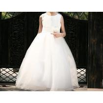 Vestido Infantil Festa/daminha/casamento/florista Longo
