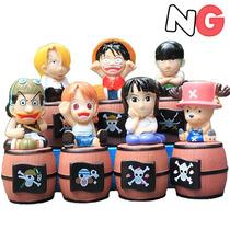 One Piece Cofrinho Para Dinheiro Vários Personagens Cofre