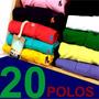 Kit 20 Polos Masculinas, Originais Qualidade Importada