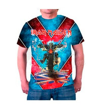 Camiseta De Rock - Iron Maiden Ref004