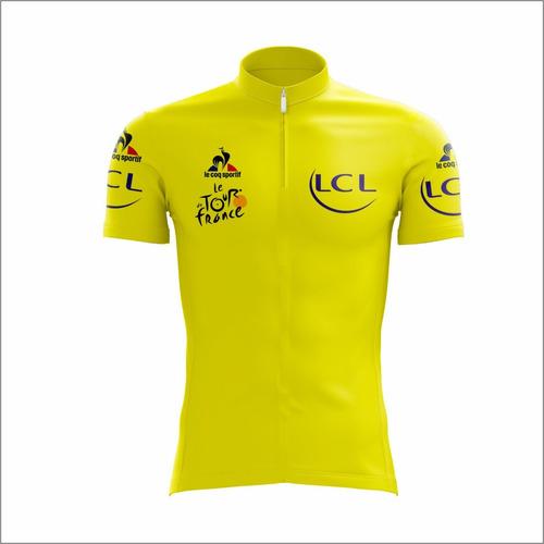 Camisa Ciclismo Scape Equipe Lcl Le Tour De France ccb05a5d095