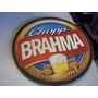Placa Decorativa Chopp Brahma Redonda