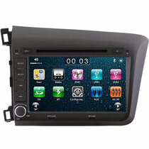 Central Multimídia Honda Civic 2012 2013 2014 Gps Dvd