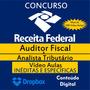 Dvds Concurso Receita Federal Auditor Fiscal E Analista 2015