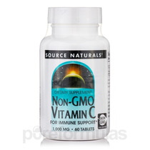 Non-gmo Vitamina C-1000 (corn-based) - 60 Comprimidos Por So