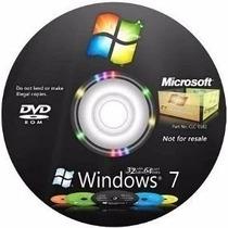Dvd Windows 7 Para Formatação De Pc E Notebook + Driver