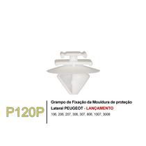Fixador Friso Lateral Peugeot 207 307 407 Kit 5 Peças