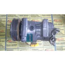 Compressor De Ar Do Peugeot 206-207 #sanden 6v12