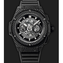 Hublot King Power Carbon Skeleton All Black Zero 48mm
