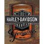 Placa Decorativa Retro Moto Harley Fretegratis Oficina Retrô
