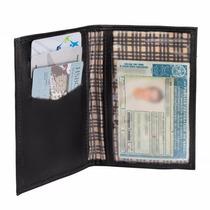 Carteira Porta Documentos De Carro E Cnh Em Couro Legítimo