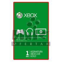 Live Gold 1 Mês Xbox 360 E One Br Usa Eu - Preço Imperdível