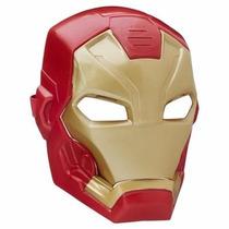 Mascara Iron Man Homem De Ferro Guerra Civil Som Luz Hasbro