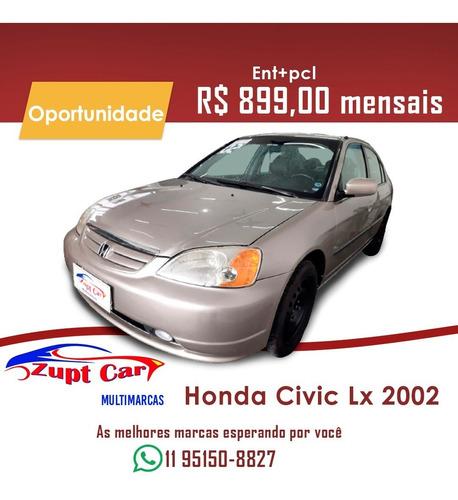 HONDA CIVIC LX 2002 - FINANCIAMENTO OPORTUNIDADE -