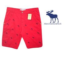 Bermuda Jeans Abercrombie Af323 Masculina - Cores