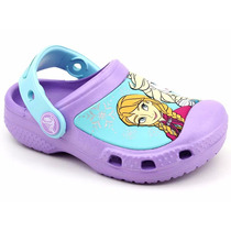 Crocs Infantil Clog Iris Xcc Frozen Original Loja Pixolé