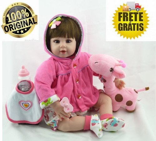 dab954dd5 Bebê Boneca Reborn Promocao Pronta Entrega Frete Gratis
