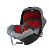 Bebê Conforto Maxi Baby Double Face Mescla Cinza/vermelho