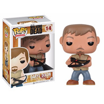 The Walking Dead Daryl Dixon Boneco Pop Vinil Da Funko 10cms