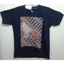 Camiseta Acostamento Estampa Transfer Cores Variadas