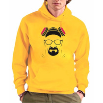 Blusa Moletom Breaking Bad Canguru Com Capuz Unissex