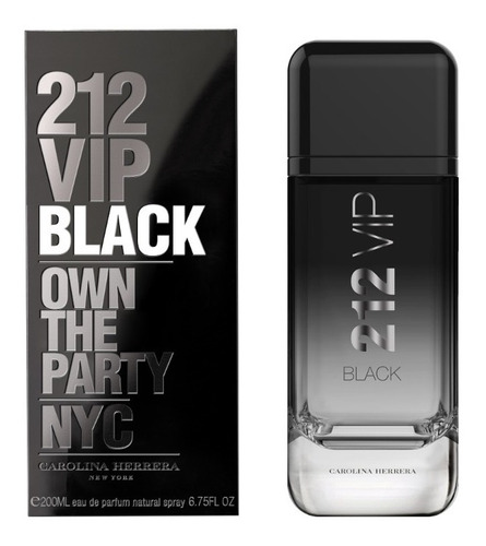 212 Vip Black 200ml Masculino   Original Lacrado + Amostra