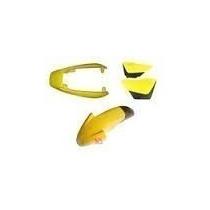 Kit Carenagem Suzuki Yes125 - Amarela (06 Peças) Até 2013