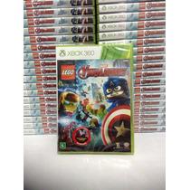 Lego Marvel Vingadores - Xbox 360 Avengers Pt-br Rcr Games