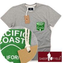 Camiseta Bolso Califórnia, Sheepfyeld Qualidade De Importada