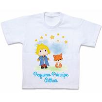 Camiseta Personalizada Pequeno Príncipe Blusa Camisa Roupas