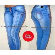 Calça Flook Jeans Com Bojo Removivel - Estilo Pit Bull Jeans