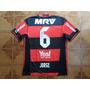 Camisa  Flamengo  Rubronegra  Jogo   6   Jorge   Tamanho   M